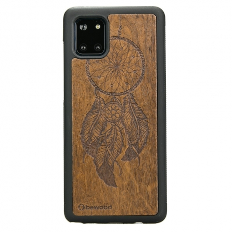 Drewniane Etui Samsung Galaxy Note 10 Lite ŁAPACZ SNÓW IMBUIA