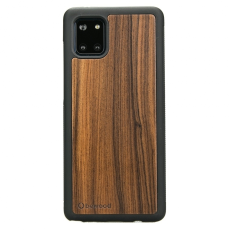 Drewniane Etui Samsung Galaxy Note 10 Lite PALISANDER SANTOS