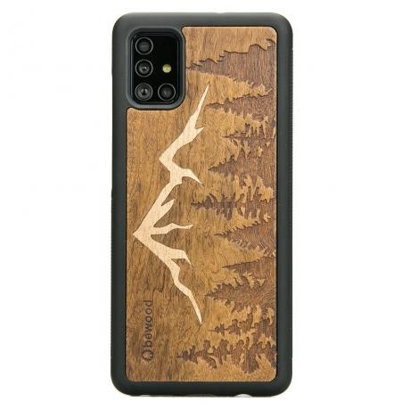 Drewniane Etui Samsung Galaxy S10 Lite GÓRY IMBUIA