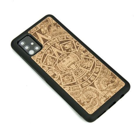 Drewniane Etui Samsung Galaxy S10 Lite KALENDARZ AZTECKI ANIEGRE