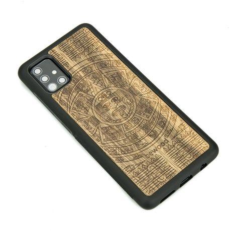 Drewniane Etui Samsung Galaxy S10 Lite KALENDARZ AZTECKI LIMBA