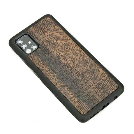 Drewniane Etui Samsung Galaxy S10 Lite KALENDARZ AZTECKI ZIRICOTTE