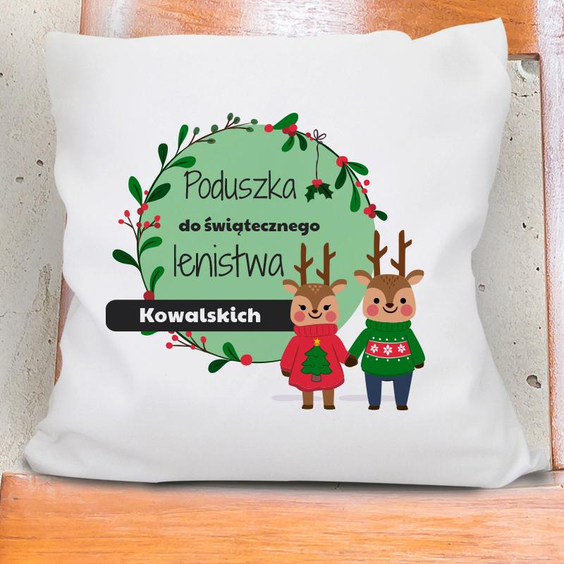 Poduszka bożonarodzeniowa (personalizowana)