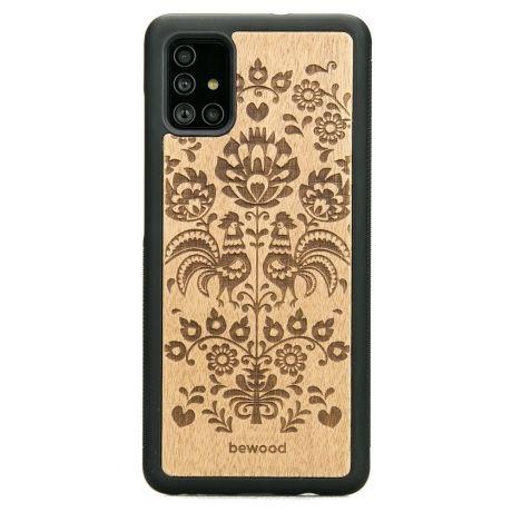 Drewniane Etui Samsung Galaxy S10 Lite POLSKI FOLK ANIEGRE