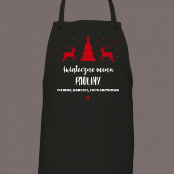 Fartuch świąteczny (personalizowany)