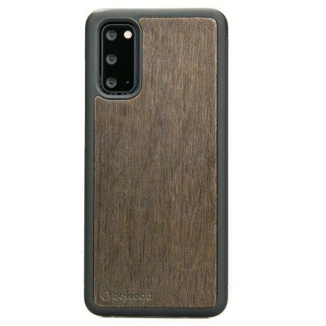 Drewniane Etui Samsung Galaxy S20 DĄB WĘDZONY