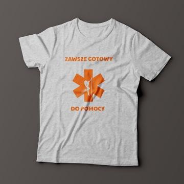 Koszulka dla ratownika medycznego