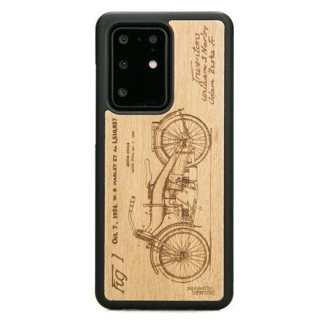 Drewniane Etui Samsung Galaxy S20 Ultra HARLEY PATENT ANIEGRE