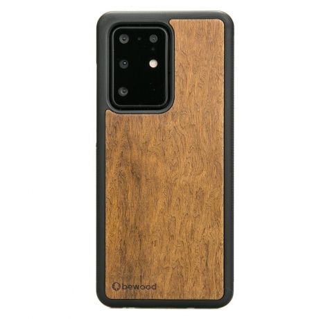Drewniane Etui Samsung Galaxy S20 Ultra IMBUIA