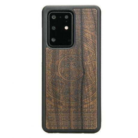 Drewniane Etui Samsung Galaxy S20 Ultra KALENDARZ AZTECKI ZIRICOTTE