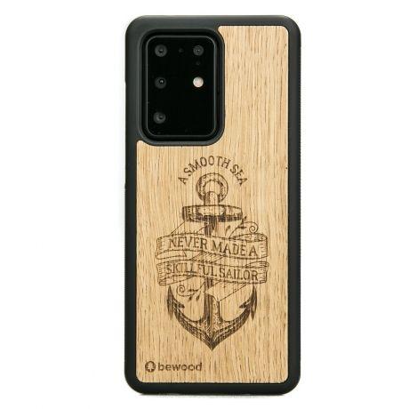 Drewniane Etui Samsung Galaxy S20 Ultra KOTWICA DĄB