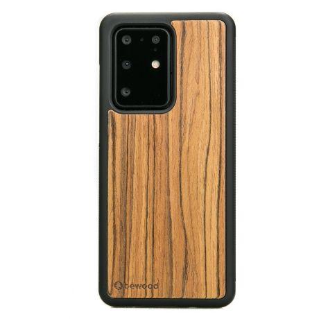 Drewniane Etui Samsung Galaxy S20 Ultra OLIWKA