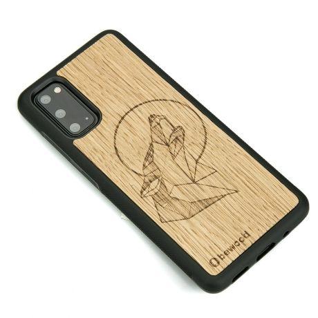 Drewniane Etui Samsung Galaxy S20 WILK DĄB