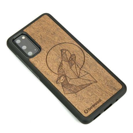 Drewniane Etui Samsung Galaxy S20 WILK IMBUIA