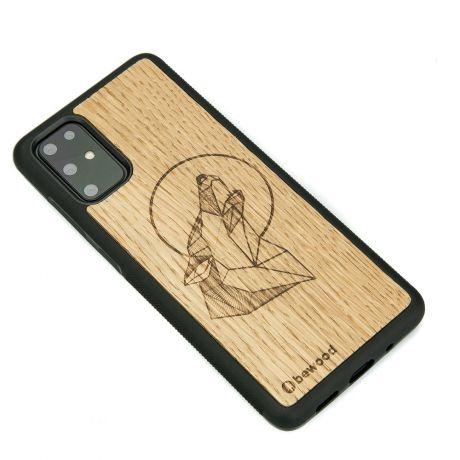 Drewniane Etui Samsung Galaxy S20+ WILK DĄB