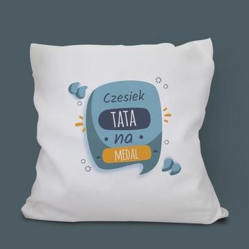 Poduszka dla taty z imieniem