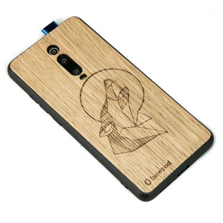 Drewniane Etui Xiaomi Mi 9T / Mi 9T Pro WILK DĄB