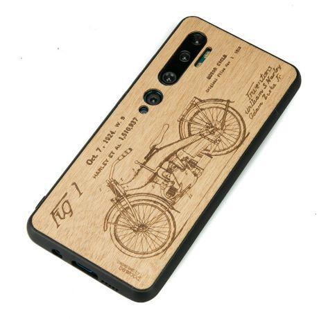 Drewniane Etui Xiaomi Mi Note 10 HARLEY PATENT ANIEGRE