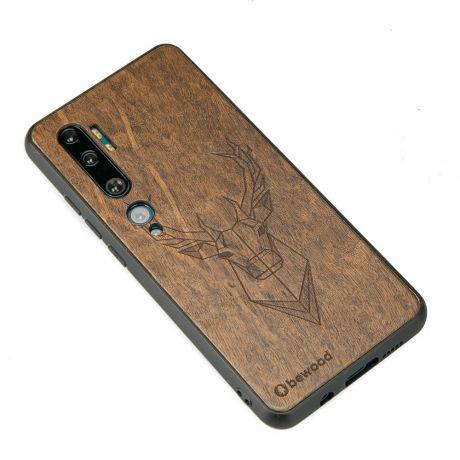 Drewniane Etui Xiaomi Mi Note 10 JELEŃ IMBUIA