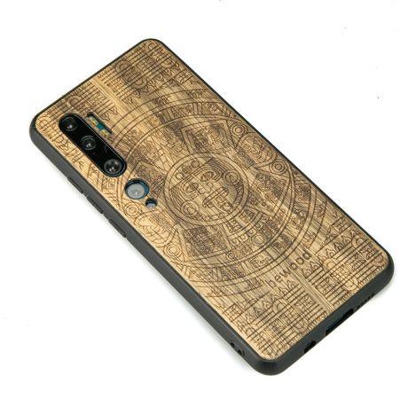 Drewniane Etui Xiaomi Mi Note 10 KALENDARZ AZTECKI LIMBA