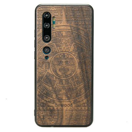 Drewniane Etui Xiaomi Mi Note 10 KALENDARZ AZTECKI ZIRICOTTE