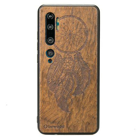 Drewniane Etui Xiaomi Mi Note 10 ŁAPACZ SNÓW IMBUIA