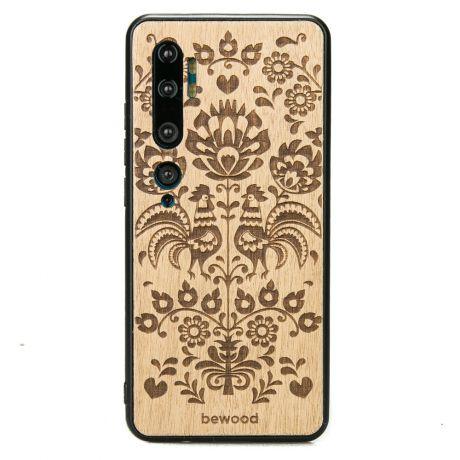 Drewniane Etui Xiaomi Mi Note 10 POLSKI FOLK ANIEGRE