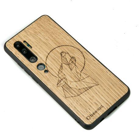 Drewniane Etui Xiaomi Mi Note 10 WILK DĄB