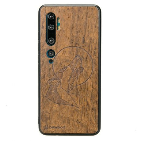 Drewniane Etui Xiaomi Mi Note 10 WILK IMBUIA