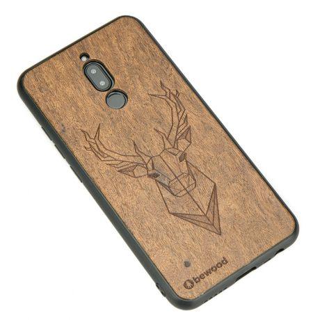 Drewniane Etui Xiaomi Redmi 8 JELEŃ IMBUIA