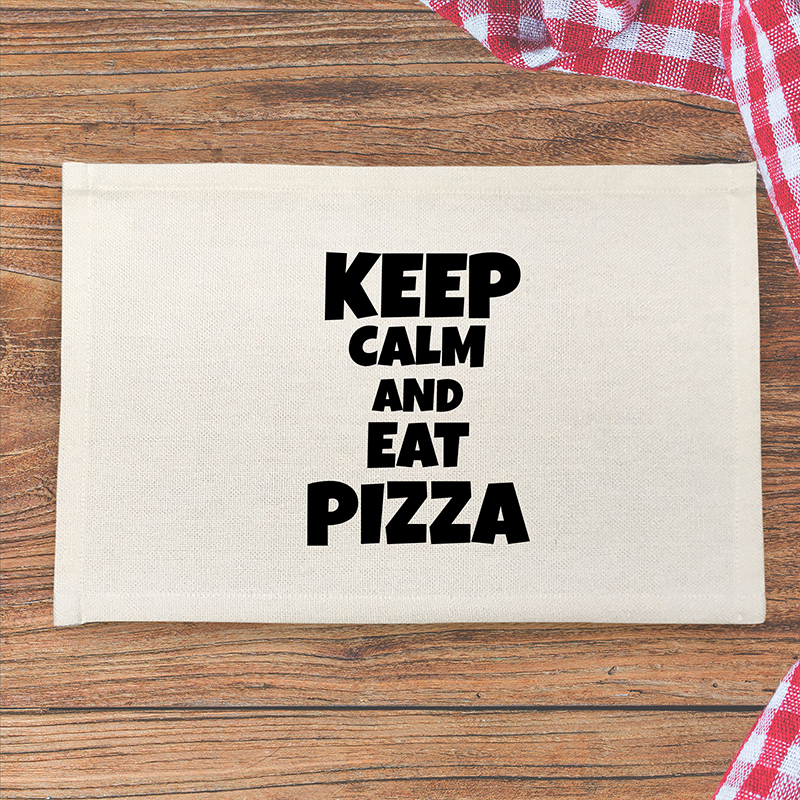 Podkładka pod talerz z pizzą