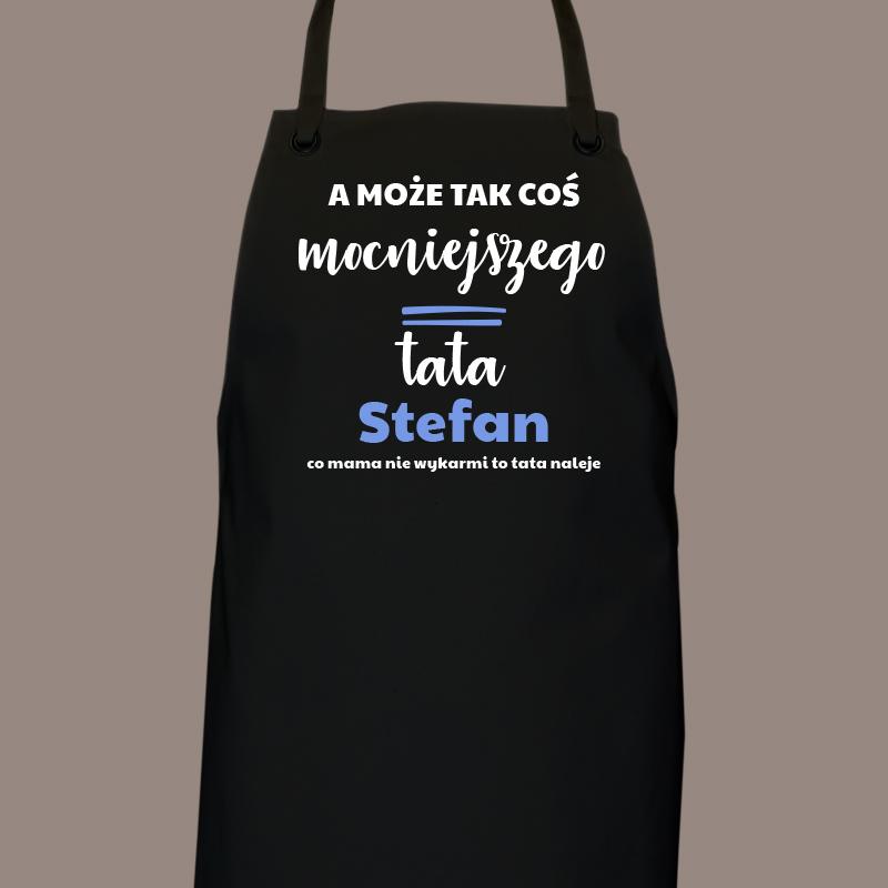 Fartuch kuchenny dla taty z napisem