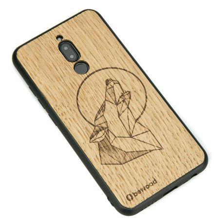 Drewniane Etui Xiaomi Redmi 8 WILK DĄB
