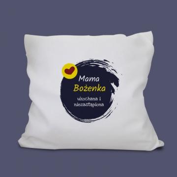 Poduszka dla mamy z napisem personalizowanym