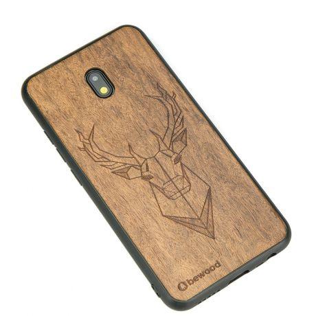 Drewniane Etui Xiaomi Redmi 8A JELEŃ IMBUIA