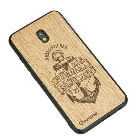 Drewniane Etui Xiaomi Redmi 8A KOTWICA DĄB