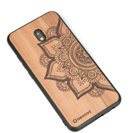 Drewniane Etui Xiaomi Redmi 8A MANDALA JABŁOŃ