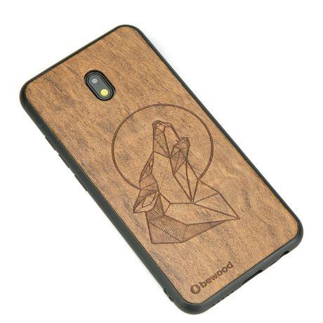 Drewniane Etui Xiaomi Redmi 8A WILK IMBUIA