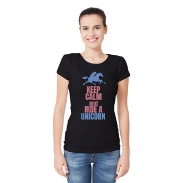 Koszulka z jednorożcem i napisem