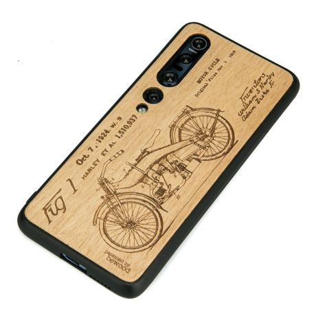 Drewniane Etui Xiaomi Mi 10 Pro HARLEY PATENT ANIEGRE
