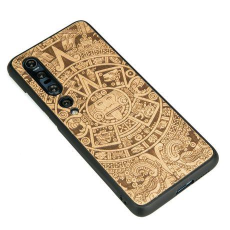 Drewniane Etui Xiaomi Mi 10 Pro KALENDARZ AZTECKI ANIEGRE