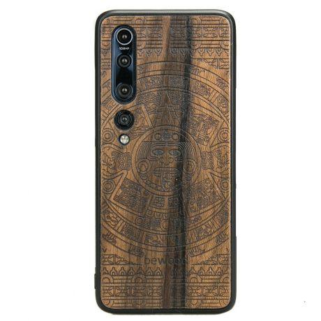 Drewniane Etui Xiaomi Mi 10 Pro KALENDARZ AZTECKI ZIRICOTTE