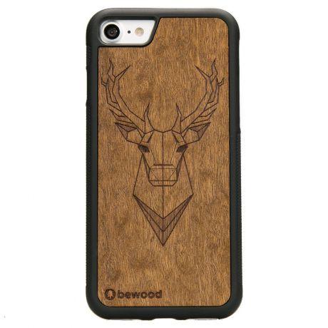 Drewniane Etui iPhone SE 2020 JELEŃ IMBUIA