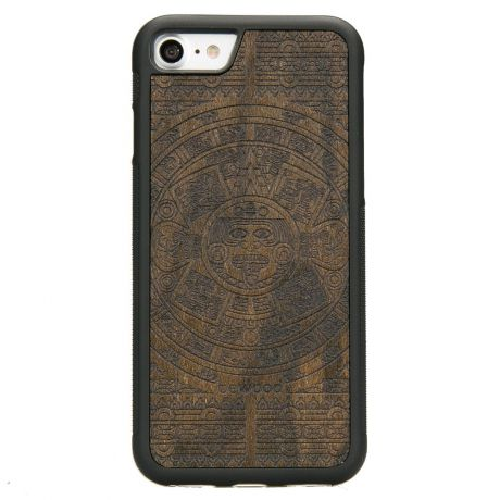 Drewniane Etui iPhone SE 2020 KALENDARZ AZTECKI ZIRICOTTE