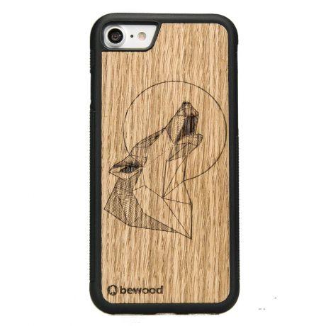Drewniane Etui iPhone SE 2020 WILK DĄB