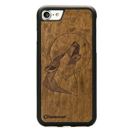 Drewniane Etui iPhone SE 2020 WILK IMBUIA