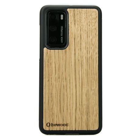 Drewniane Etui Huawei P40 DĄB