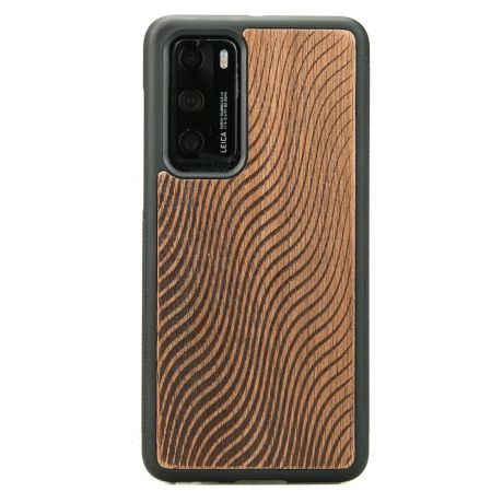 Drewniane Etui Huawei P40 FALE MERBAU