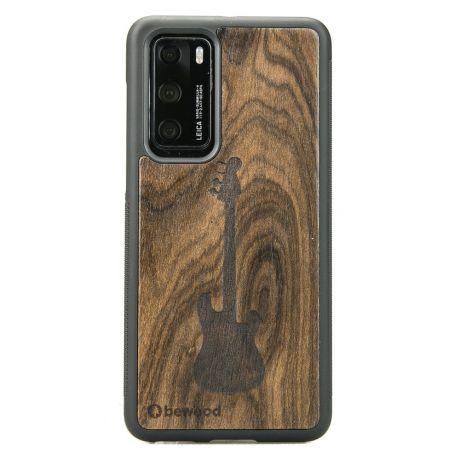 Drewniane Etui Huawei P40 GITARA ZIRICOTE