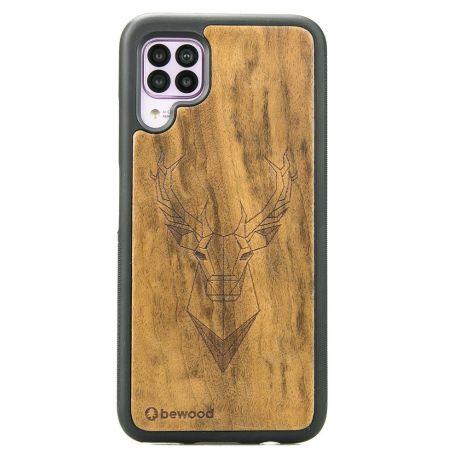Drewniane Etui Huawei P40 Lite JELEŃ IMBUIA